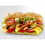 Сэндвич свинина BBQ Фото