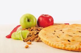 Постный пирог яблочный джин - Фото