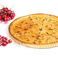 Постный пирог вишневый джин Фото