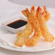 Креветки темпура с соусом гёдза Фото