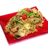 Рис тепаньяки с морепродуктами Фото