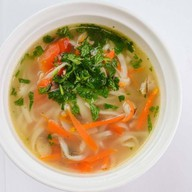 Суп с курицей Фото