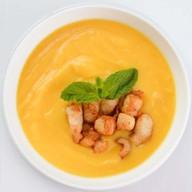Суп-пюре со сладкой кукурузой и курицей Фото
