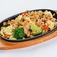 Тепан рис овощами Фото