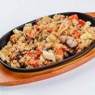 Тепан рис с морепродуктами Фото