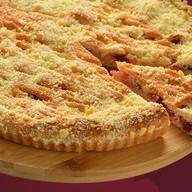 Пирог с яблоком и клюквой Фото