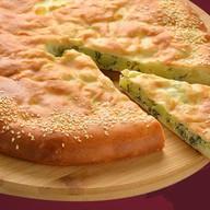 Пирог с картофелем и укропом Фото