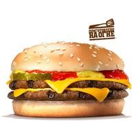 Двойной чизбургер Фото