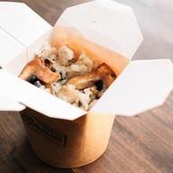 Ризотто с курицей и грибами Фото