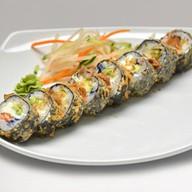 Темпура с лососем и стружкой тунца Фото