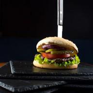 Стейк burger grill из говядины Фото