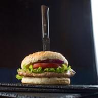 Стейк burger grill из индейки Фото