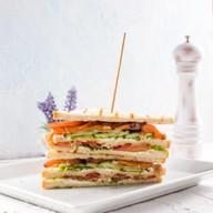 Сендвич с семгой Фото