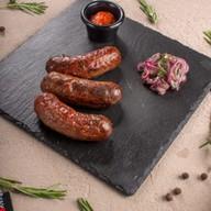 Колбаски домашние говяжьи Фото