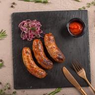 Колбаски домашние свиные Фото
