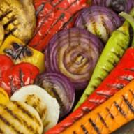 Ассорти овощи гриль Фото