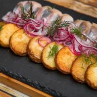 Селедка с картофелем Фото