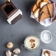 Французский крем-суп из грибов Фото