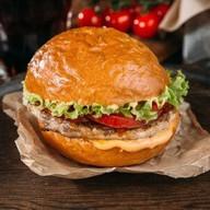 Детский чизбургер с мраморной говядиной Фото