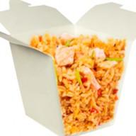 Тепаньяки рис с морепродуктами Фото