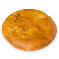Пирог осетинский с курицей и грибами Фото