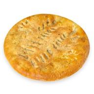 Пирог с мясом, баклажанами и перцем Фото