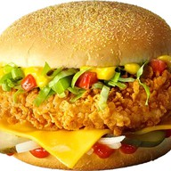 Чизбургер де люкс оригинальный Фото