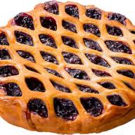 Пирог черная смородина Фото