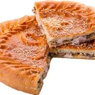 Пирог с филе (курица) и грибами Фото