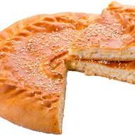 Пирог с филе (курица) и сыр Фото
