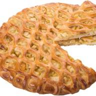 Пирог с грушей и бананом Фото