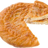 Пирог с филе (курица) и ананас Фото
