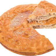 Пирог с мясом (свинина) Фото