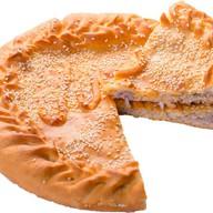 Пирог с мясом свинины и сыром Фото