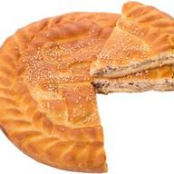 Пирог с мясом (свинина) и грибами Фото