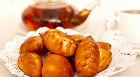 Мини пирожки картофель+грузди - Фото