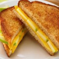 Сэндвич с яблоком Фото