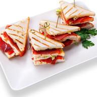 Мини сэндвич мясо Фото