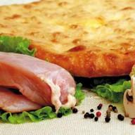 Осетинский пирог с курицей,грибами,сыром Фото