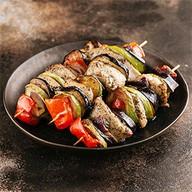 Шашлык из индейки с овощами Фото
