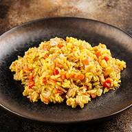 Рис по-сингапурски Фото
