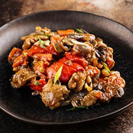 Курица по-китайски в соусе терияки Фото