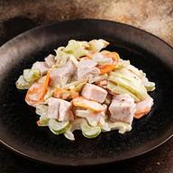 Сельдерей с индейкой салат Фото