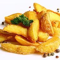 Картофельные дольки айдахо Фото
