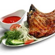Чалагач из свинины с овощами Фото