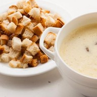 Суп сырный с шампиньонами Фото