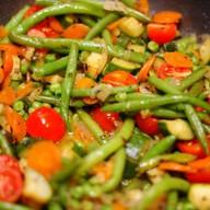 Овощи тушеные Фото