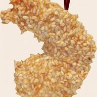 Королевская креветка в кунжуте Фото
