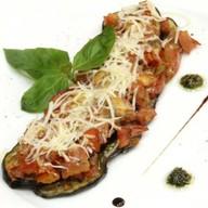 Баклажаны, запеченные с помидорами,сыром Фото