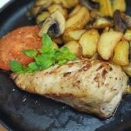 Филе куриное с сыром дорблю Фото